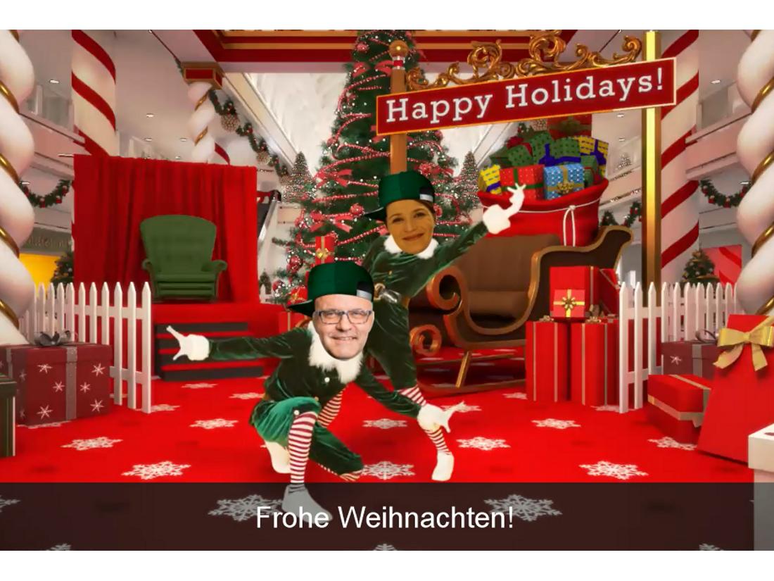 Frohe Weihnachten - Let's Dance!